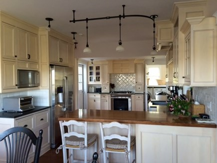 Tom Nevers Nantucket vacation rental - Gourmet kitchen w/ss appliances opens to spacious dining area
