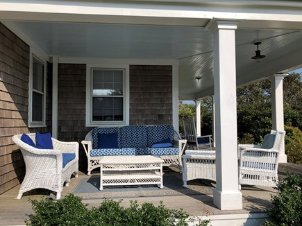 Tom Nevers Nantucket vacation rental - Wicker furniture on the front porch