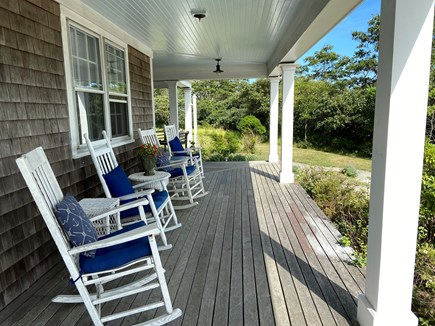 Tom Nevers Nantucket vacation rental - Rockers on the farmer's porch welcome you to 'Incandescence'