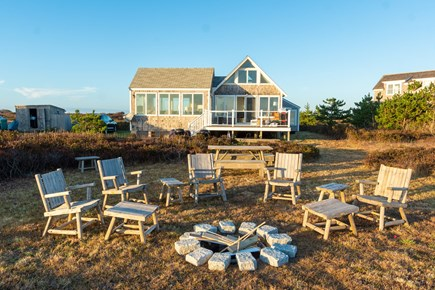 Madequecham, Nantucket Nantucket vacation rental - A fire pit for your enjoyment