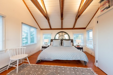 Madequecham, Nantucket Nantucket vacation rental - Master bedroom with king bed and cathedral ceilings