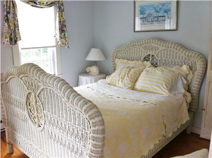 Siasconset Nantucket vacation rental - Master Bedroom with Ralph Lauren bed