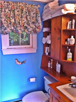 Siasconset Nantucket vacation rental - One of two full bathrooms