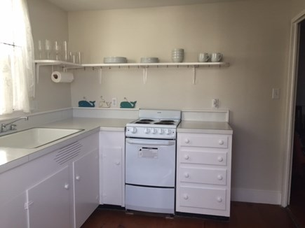 Siasconset Nantucket vacation rental - South Kitchen with separate entry.