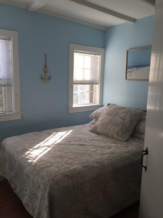 Siasconset Nantucket vacation rental - South Master Bedroom has full bed and powder room w/ shower.