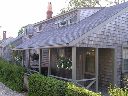 Siasconset Nantucket vacation rental - Beautiful covered porch for dining alfresco!