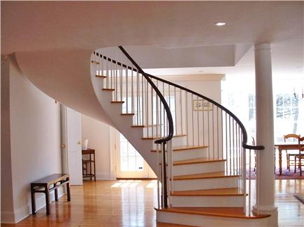 Dionis Nantucket vacation rental - Gracious Stairway