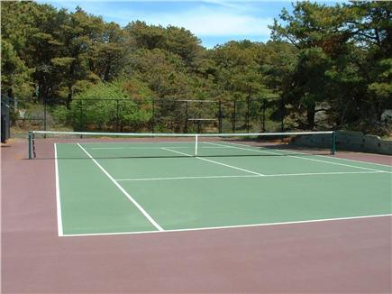 Dionis Nantucket vacation rental - Har Tru Tennis Court