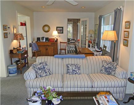 Mid Island Madaket   Nantucket vacation rental - Dining area located between living room and sunroom
