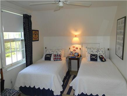 Mid Island Madaket   Nantucket vacation rental - Twin bedroom upstairs with AC