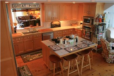 Nantucket town, Nantucket Nantucket vacation rental - Beautiful Open Kitchen