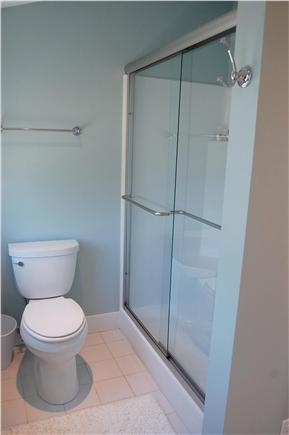 Cisco - Miacomet, Hummock Pond Nantucket vacation rental - Glass enclosed walk in shower with double seating