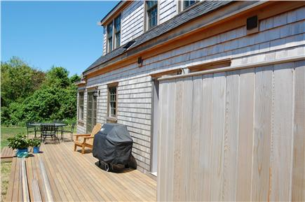 Cisco - Miacomet, Hummock Pond Nantucket vacation rental - Full deck, Outside shower, Gas Grill, Private yard