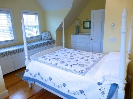 Cisco - Miacomet, Hummock Pond Nantucket vacation rental - 2nd Floor, 2nd Br, Full, 10ft gable with Window Seat, ceiling fan