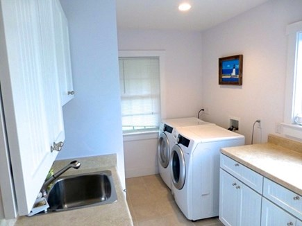 Cisco - Miacomet, Hummock Pond Nantucket vacation rental - Laundry/Mud room, fish sink, separate exit from outside shower