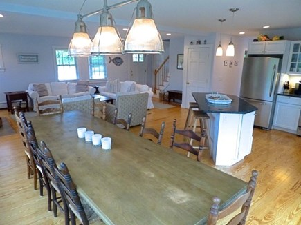 Cisco - Miacomet, Hummock Pond Nantucket vacation rental - Big Farm House table