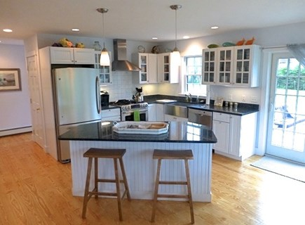 Cisco - Miacomet, Hummock Pond Nantucket vacation rental - Gourmet Chef's kitchen, gas chef stove, stainless appliances