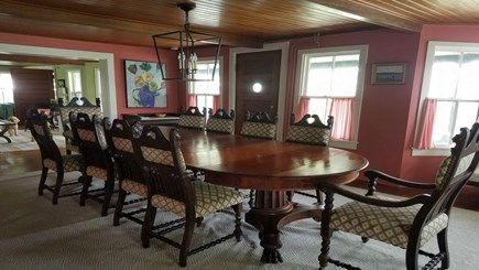 Siasconset, Nantucket Nantucket vacation rental - Formal dining room ready for delicious dinners for 10+