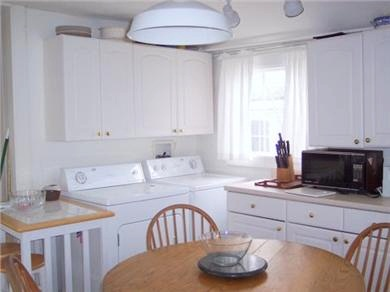 Nantucket town Nantucket vacation rental - Kitchen with washer and dryer
