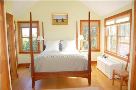 Polpis, Nantucket Nantucket vacation rental - Master Bedroom  with private exit to deck, cathedral ceilings
