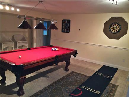 Nantucket town Nantucket vacation rental - Games room (pool table and darts)