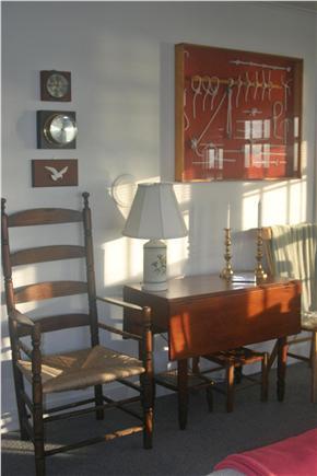 Madaket Nantucket vacation rental - South side of Living Room