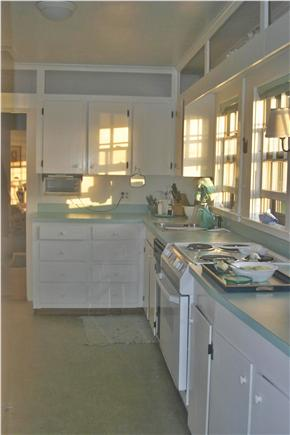 Madaket Nantucket vacation rental - Kitchen with view toward Back Bedroom