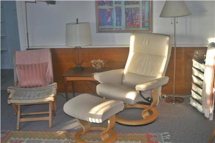 Madaket Nantucket vacation rental - Sitting area in back (double) Bedroom