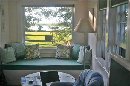 Madaket Nantucket vacation rental - Sitting area in Master Bedroom (Starfish)