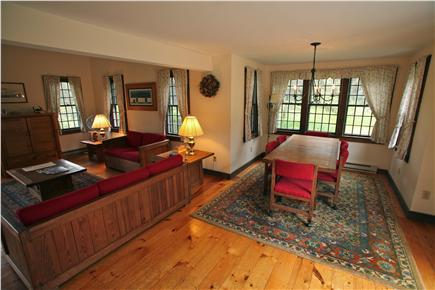 Madaket Nantucket vacation rental - Dining area, adjacent to living room