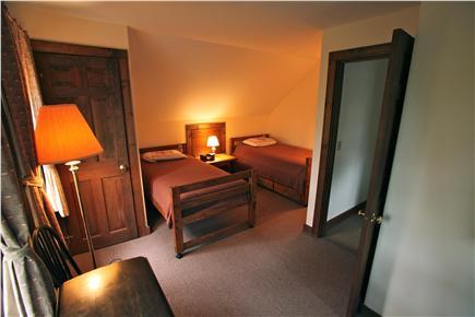 Madaket Nantucket vacation rental - Second floor bedroom with twin beds & trundle