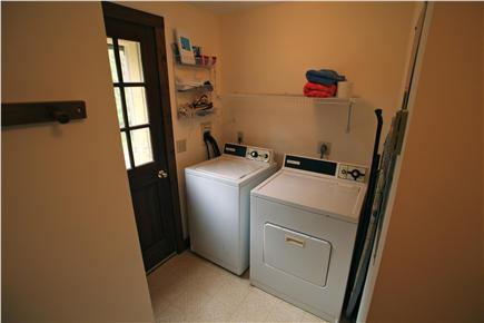 Madaket Nantucket vacation rental - Full laundry room