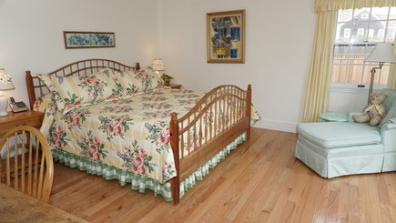 Tom Nevers, Nantucket Nantucket vacation rental - Master bedroom Motorized iSerta split king with door to pool deck