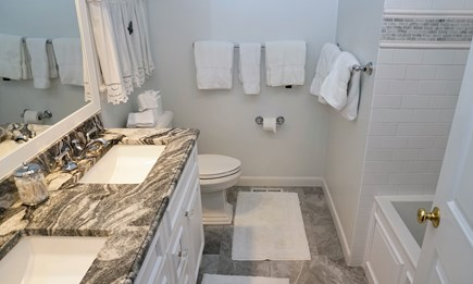 Tom Nevers, Nantucket Nantucket vacation rental - Master bath. Similar in both Master Suites.