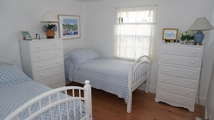 Tom Nevers, Nantucket Nantucket vacation rental - Blue twin family bedroom.