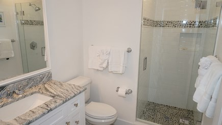 Tom Nevers, Nantucket Nantucket vacation rental - Family bathroom with shower. (Also enclosed outdoor shower).
