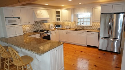 Tom Nevers, Nantucket Nantucket vacation rental - New kitchen with all new appliances in 2011.
