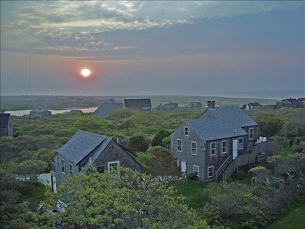 Tom Nevers, Nantucket Nantucket vacation rental - Sunrise over S'conset from widow's walk.