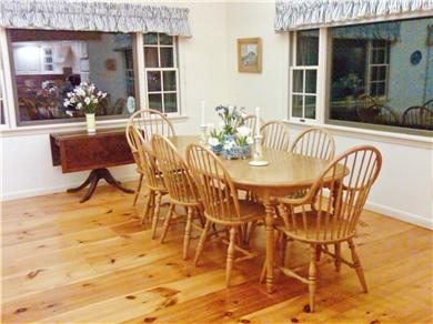 Tom Nevers, Nantucket Nantucket vacation rental - Dining area seats 8-10