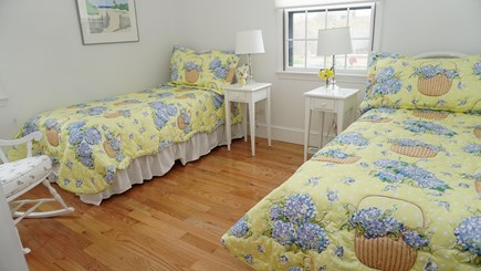 Tom Nevers, Nantucket Nantucket vacation rental - Yellow twin family bedroom.