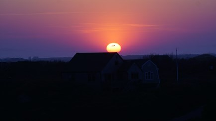 Tom Nevers, Nantucket Nantucket vacation rental - Nantucket summer sunset from widow's walk.