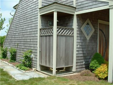 Siasconset Nantucket vacation rental - Outside shower