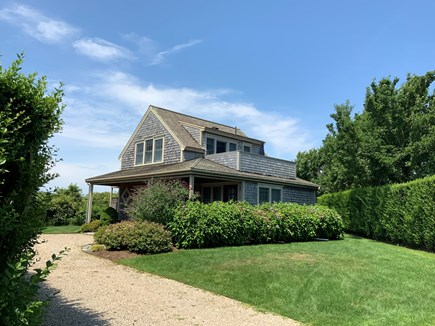 Siasconset Nantucket vacation rental - Convenient to Sconset Beach - Private, surrounded by hedges.