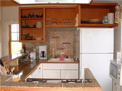 Siasconset Nantucket vacation rental - Kitchen with everything you need.