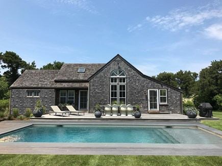 Surfside Nantucket vacation rental - New for 2019 ... the addition of this beautiful 18 x 36 pool