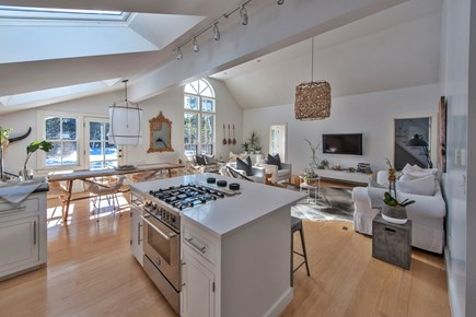 Surfside Nantucket vacation rental - Gorgeous light floods the large serene space of the living area