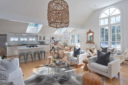 Surfside Nantucket vacation rental - This beautiful open plan living is perfect for your family time