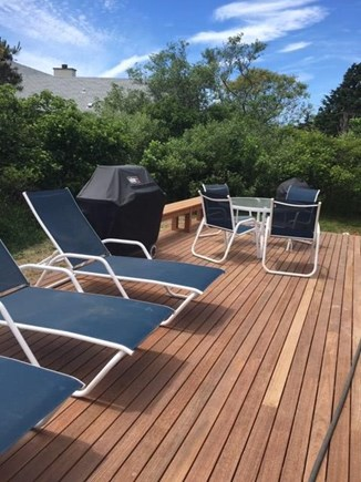 Madaket, Nantucket Nantucket vacation rental - New First Floor Deck