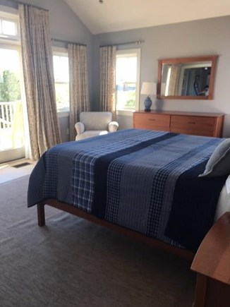 Madaket, Nantucket Nantucket vacation rental - Larger 2nd Floor Master Bedroom Suite & Deck