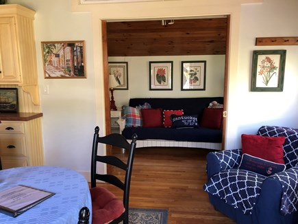 Tom Nevers East Nantucket vacation rental - Main room with cathedral ceilings and seating for 4